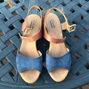 CLARKS Women Sandals/ Wedges